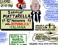 Digital Sketchnotes - Who is Sergio Mattarella