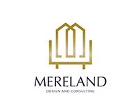 melreland Design and consulting logo concept.