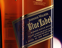 3D Product Visualization - Johnnie Walker (Blue Label)