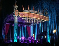 2015 electric forest observatory/stage