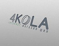 4KOLA - Logotype Internet Shop Tyres