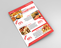Restaurant Promotional Flyer on Creative Market