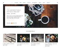 Writsy - A Clean & Faded Vintage WordPress Blog & Shop