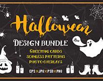 Halloween Design elements set