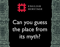 English Heritage: Myths and Legends Instagram Story