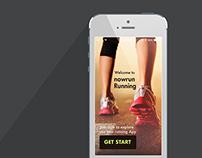 nowrun Mobile UI/UX Design