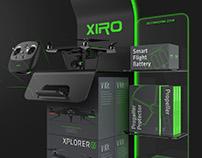 XIRO-UAV Exhibition stand design in 2015