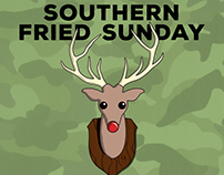 Southern Fried Sunday Holiday Flyer, 2015