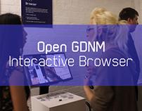 Open GDNM Interactive Browser I Film