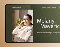 Melany Maverick — personal website on Tilda