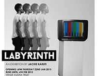 Labyrinth - An exhibition by Jackie Karuti