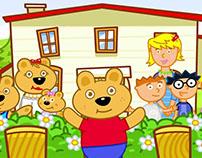 Teddy's Ready!, Preschool English Education Solution