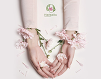 Herbello Logo - Natural cosmetics online shop