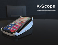 K - Scope | Flashlight Accessory for iPhone