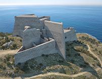 Castell de la Trinitat XVIIIth. century