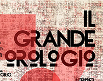 "Poster for the play ""il grande orologio"""