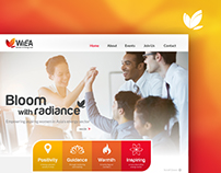 Web Design: Women in Energy Asia (WiEA)