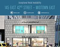 NYC Real Estate Leasing Eblast & Map
