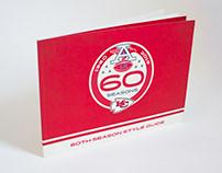 Chiefs 60th Season Logo & Style Guide