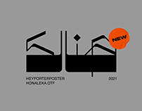 HONALEKA FONT
