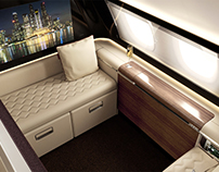 First & Business Class Airline Interior Concepts