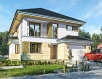 Projekt domu Kasjopea 8