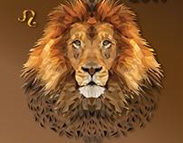 Calendar - Polygonal art zodiac