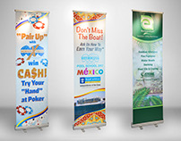 Pool Trade show Banners 2017