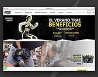 Saavedra Fitness | Diseño Web