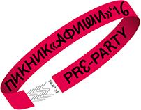 Pre-party Пикника «Афиши» 2016