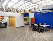 Evanston CoLab interior