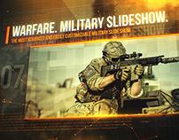 Warfare. Military Slideshow.