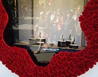 Escaparate Montblanc Sant Jordi - Flagship Barcelona