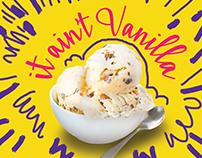 Kaf Ice Cream Campaign