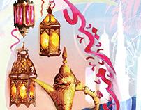 Eid Calendar Front Cover Illustration