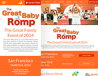 The Great Baby Romp - Concept Redesign