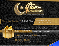 IFTAR IN MARRAKECH FLYER