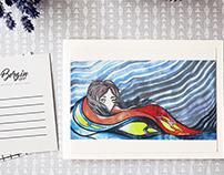 Ilustración para poema