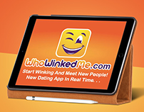 Who Winked Me - Web , Mobile & iPad App