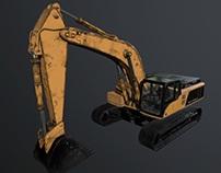 Excavator - game model