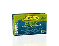 Fresh Thyme Sardines