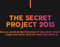 The Secret Project - Hotsite