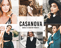 Free Casanova Mobile & Desktop Lightroom Presets