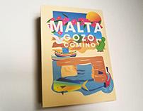 Malta // Illustrated map