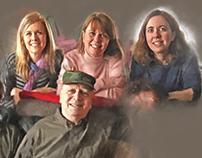 Carter family portrait progress
