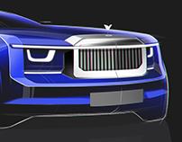Rolls-Royce Sketches