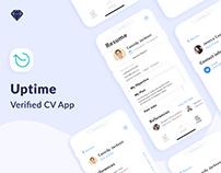 Uptime App UI/UX Design 2018-2019