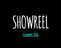 SHOWREEL summer 2016