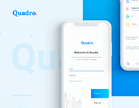 Quadro. App for search job