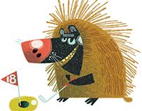 Porcupine Putt-Putt!